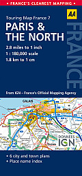 Road Map Paris & the North