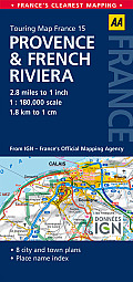 Road Map Provence & French Riviera
