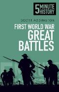 First World War Great Battles (5 Minute History)