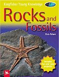 Rocks and Fossils (Kingfisher Young Knowledge) Cover