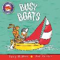 Busy Boats (Amazing Machines) Cover