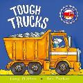 Tough Trucks (Amazing Machines) Cover