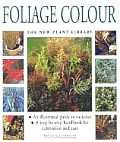Foliage Colour New Plant Library