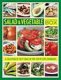 Salad & Vegetable Cooking Box: A Collection of Tasty Ideas in Two Step-By-Step Cookbooks