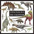 Dinosaurs 2016 Calendar