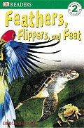 Feathers Flippers & Feet Dk Reader 2 Lev