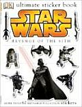 Ultimate Sticker Book Star Wars Revenge of the Sith