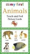 My First Touch &amp; Feel Picture Cards: Animals
