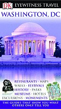 Washington, D.C. (DK Eyewitness Travel Guides) Cover