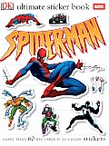 Spider Man With 60 Reusable Full Color Stickers