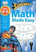 Superman: Third Grade (Math Workbooks) Cover
