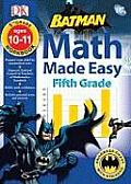 Batman Fifth Grade (Math Workbooks) Cover