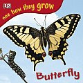 See How They Grow Butterfly With Stickers