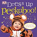 Dress-Up Peekaboo! (Touch-And-Feel Action Flap Book) Cover