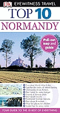 Top 10 Normandy with Map (DK Eyewitness Top 10 Travel Guides)