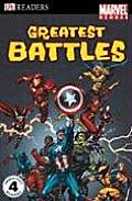 Marvel Heroes Greatest Battles (DK Readers: Level 4) Cover