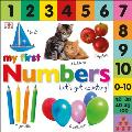 My First Numbers: Let's Get Counting (DK My First Board Books) Cover