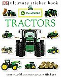 John Deere Tractors With More Than 60 Reusable Full Color Stickers