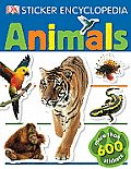 Animals with Sticker (DK Sticker Encyclopedias)