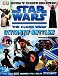 Clone Wars Ultimate Battle Sticker Collection