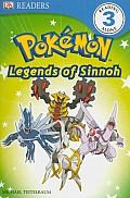 DK Reader Level 3 Pokemon Discover Sinnohs Legendary Pokemon PB