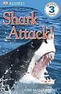 Shark Attack Dk Readers Level 3