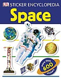 Sticker Encyclopedia Space [With Sticker(s)] (DK Sticker Encyclopedias)