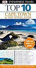 Top 10 Cape Town and the Winelands (DK Eyewitness Top 10 Travel Guides) Cover