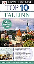 Top 10 Tallinn [With Map] (DK Eyewitness Top 10 Travel Guides) Cover