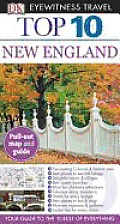 DK Eyewitness Travel Top 10 New England (DK Eyewitness Top 10 Travel Guides) Cover