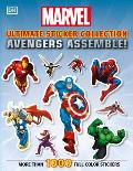 Avengers Assemble Ultimate Sticker Collection More than 1000 Reusable Full Color Stickers