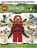 Lego Ninjago (DK Ultimate Sticker Collections) Cover