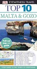DK Eyewitness Travel Top 10 Malta & Gozo