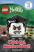 Lego Monster Fighters Watch Out Monsters About Early Reader
