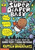 Adventures of Super Diaper Baby Cover