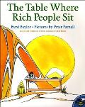 The Table Where Rich People Sit (Aladdin Picture Books) Cover