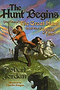 Wheel of Time #02: The Hunt Begins: Part One of the Great Hunt: Book Two of the Wheel of Time Cover