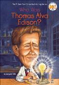 Who Was Thomas Alva Edison? (Who Was...?) Cover