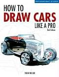 How to Draw Cars Like a Pro (Motorbooks Studio)