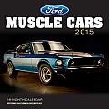 Ford Muscle Cars Calendar