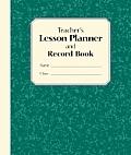 Teachers Lesson Planner & Record Book