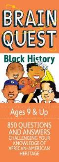 Brain Quest Black History Cover