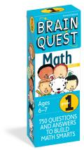 Brain Quest Grade 1 Math (Brain Quest) Cover