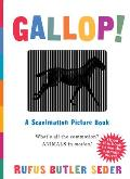 Gallop!: A Scanimation Picture Book Cover