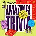 Original 365 Amazing Trivia Facts Page A Day Calendar
