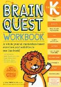 Brain Quest Kindergarten Workbook with Sticker (Brain Quest) Cover