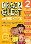 Brain Quest Grade 2 Workbook with Sticker (Brain Quest) Cover
