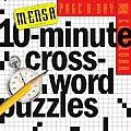 Mensa 10 Minute Crossword Puzzles Page A Day Calendar