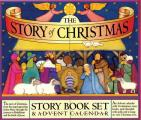 The Story of Christmas Story Book Set & Advent Calendar with Mini Book
