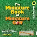 Miniature Book of Miniature Golf with 2 Balls & a Putter